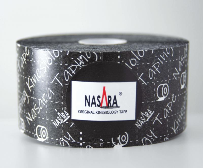 Кинезио тейп NASARA 5см*11м черный